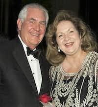 Rex and Renda Tillerson